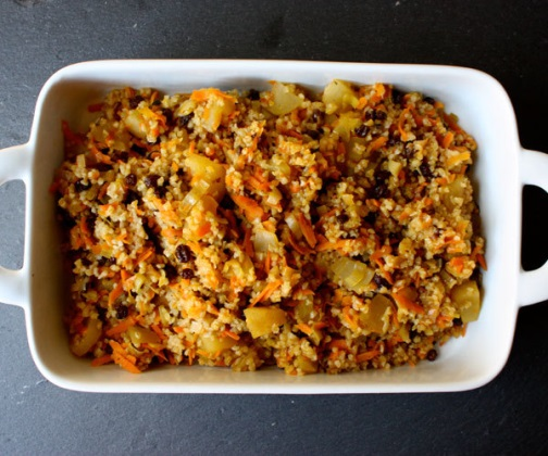 bulgur fruit stuffing we gave holiday stuffing and a whole grain twist ...